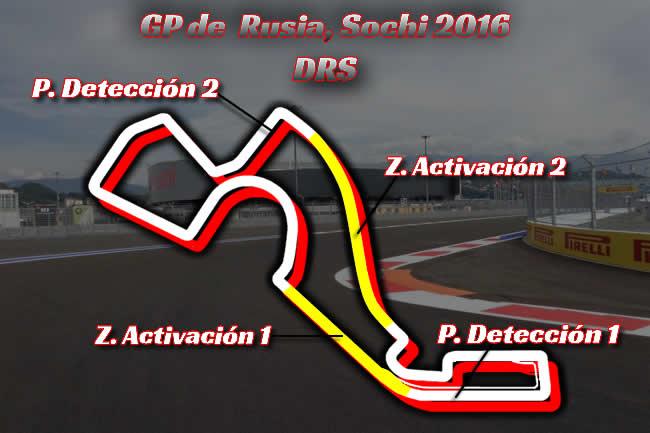 Gran Premio de Rusia - DRS 2016