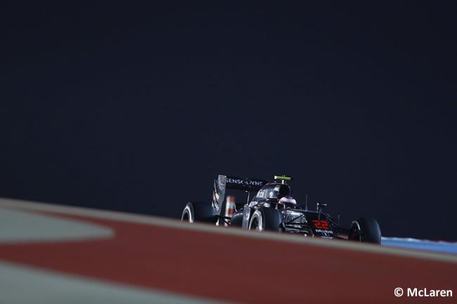 Jenson Button - McLaren - Bahréin - Entrenamientos