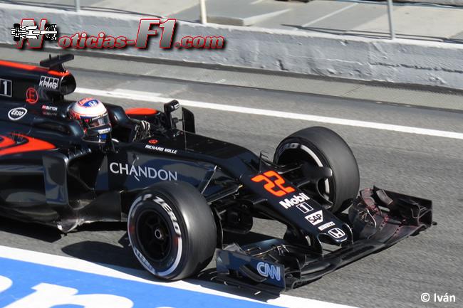 Jenson Button - McLaren-Honsa 2016