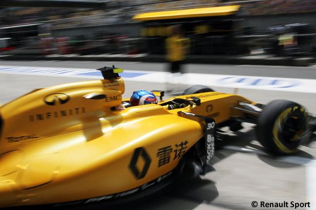 Jolyon Palmer - Renault - Entrenamientos GP China 2016