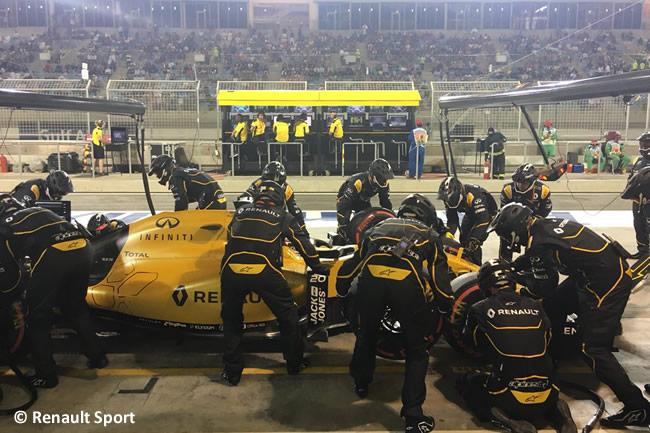 Kevin Magnussen - Renault - Gran Premio Bahréin 2016