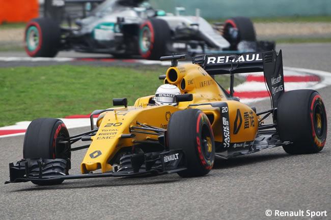 Kevin Magnussen - Renault - GP China - Calificación