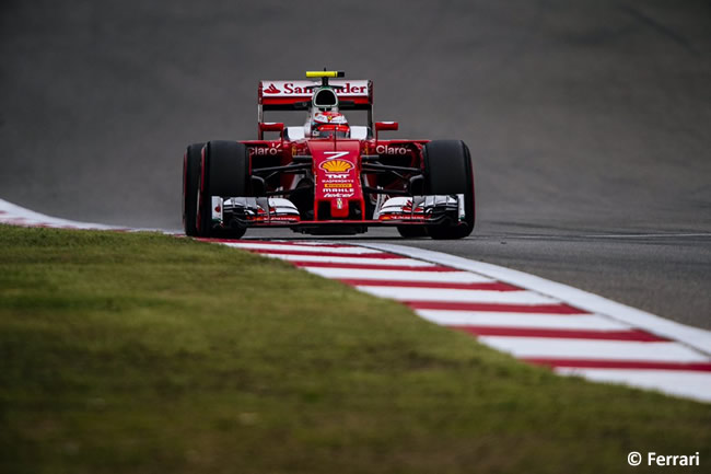 Kimi Raikkonen - Scuderia Ferrari - GP China 2016 - Calificación