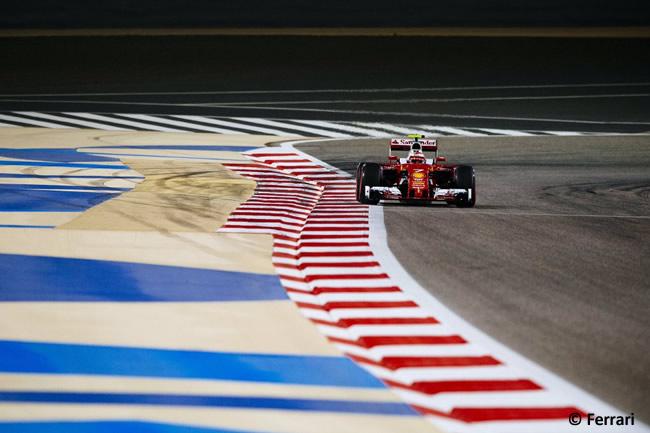 Kimi Raikkonen - Scuderia Ferrari - Gran Premio Bahréin 2016