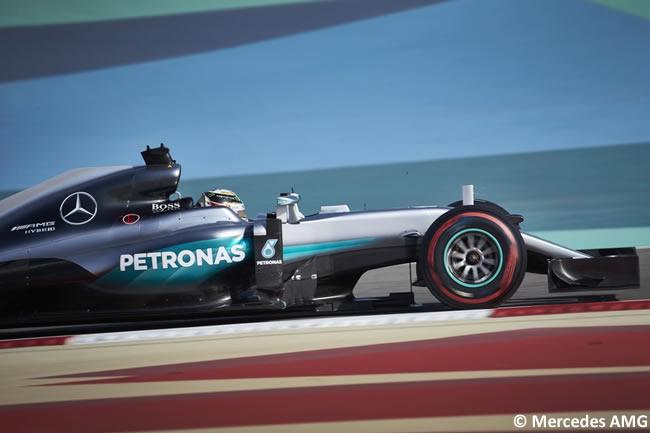 Lewis Hamilton - Mercedes AMG - Calificación GP Bahréin 2016