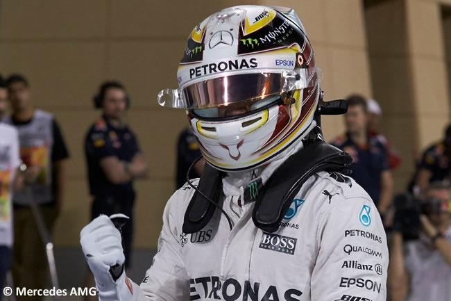 Lewis Hamilton - Mercedes AMG - Calificación - Bahréin