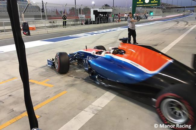 Manor Racing - Calificación GP Bahréin 2016