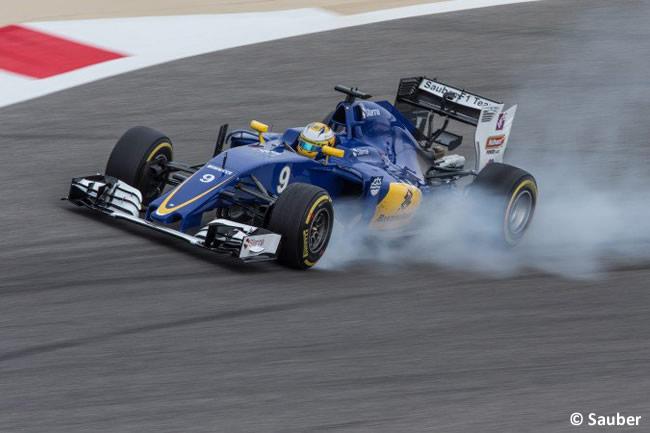 Marcus Ericsson - Sauber - Bahréin - Entrenamientos