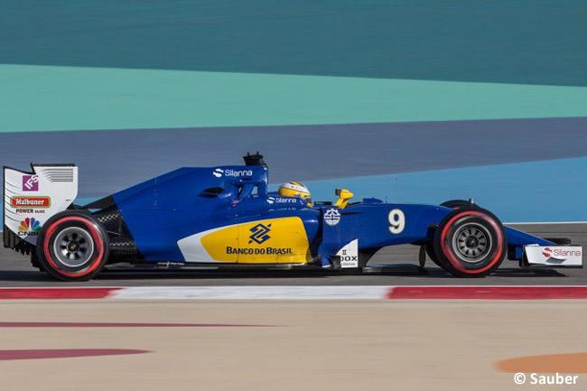 Marcus Ericsson - Sauber - Calificación GP Bahréin 2016