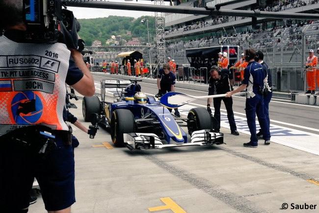 Marcus Ericsson - Sauber - GP Rusia 2016
