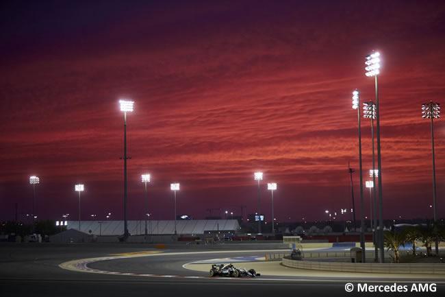 Mercedes - Bahréin - Entrenamientos