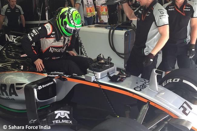 Nico Hulkenberg - Force India - Calificación GP Bahréin 2016