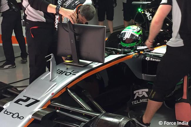 Nico Hulkenberg - Force India - GP China - Calificación