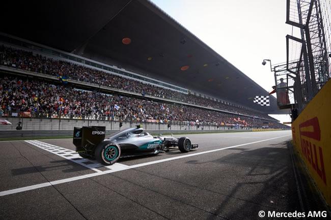 Nico Rosberg - Mercedes AMG - GP China Shanghái 2016
