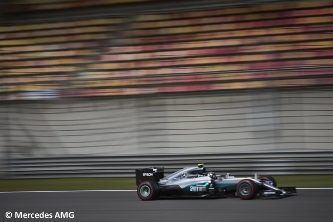 Nico Rosberg - Mercedes AMG - GP China - Calificación