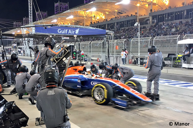 Pascal Wehrlein - Manor - Gran Premio Bahréin 2016