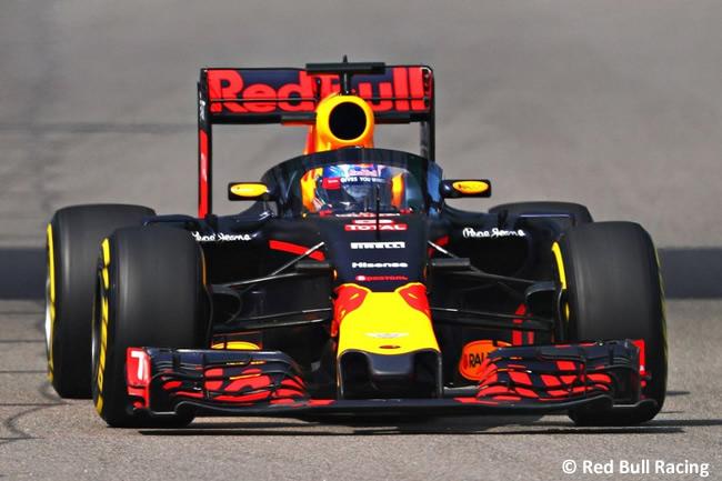 Red Bull Racing - Aeroscreen - GP Rusia 2016