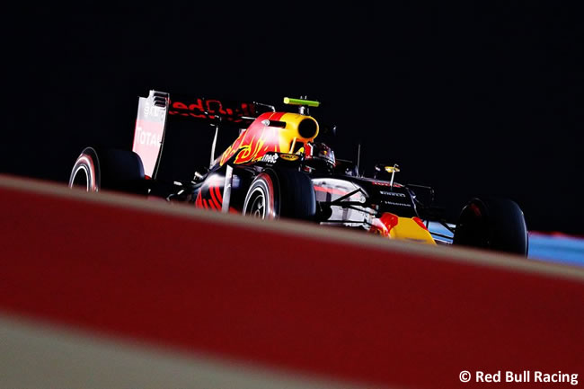 Red Bull Racing - Bahréin - Entrenamientos