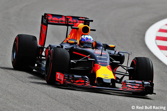 Red Bull Racing - GP Rusia 2016 - Entrenamientos