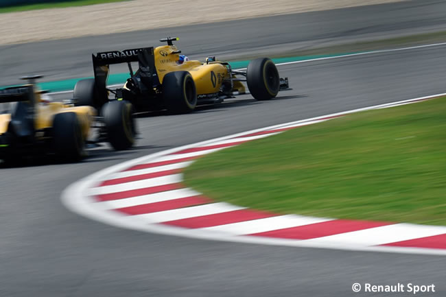 Renault - GP China Shanghái 2016
