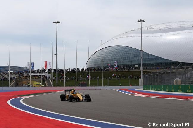 Renault - GP Rusia 2016
