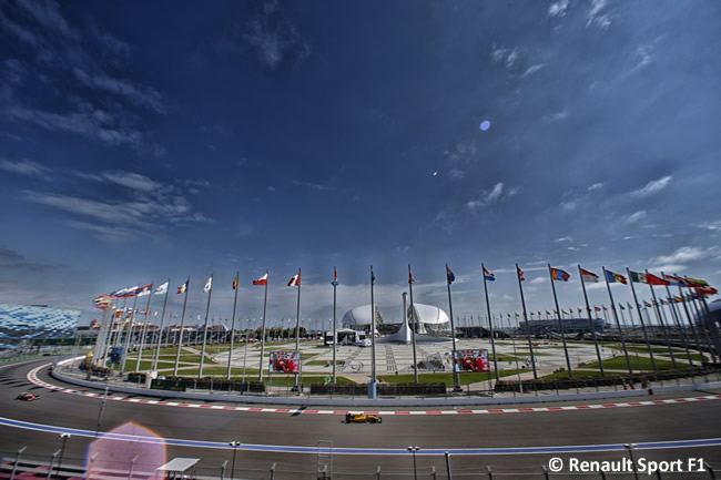 Renault Sport - GP Rusia 2016 - Entrenamientos