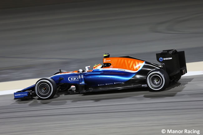 Rio Haryanto - Manor Racing - GP Bahréin 2016