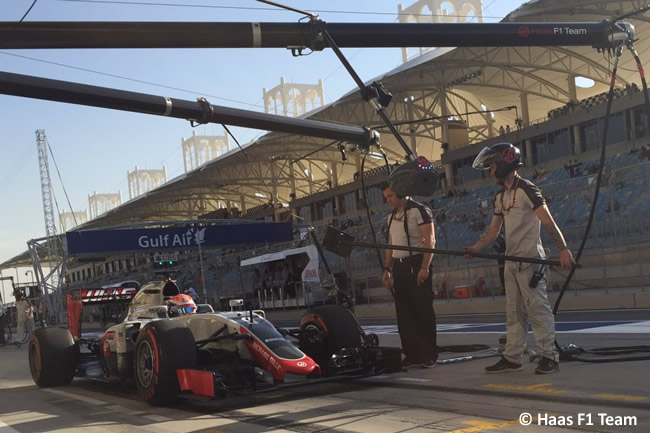 Romain Grosjean - Haas F1 Team - Calificación GP Bahréin 2016