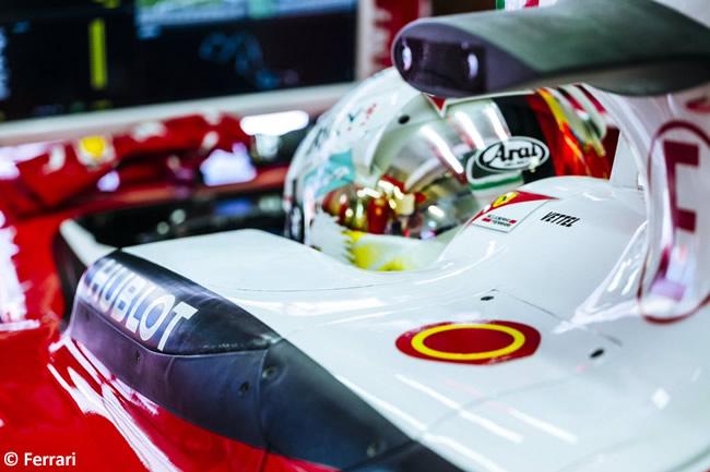 Sebastian Vettel - Scuderia Ferrari - GP Rusia 2016 - Entrenamientos