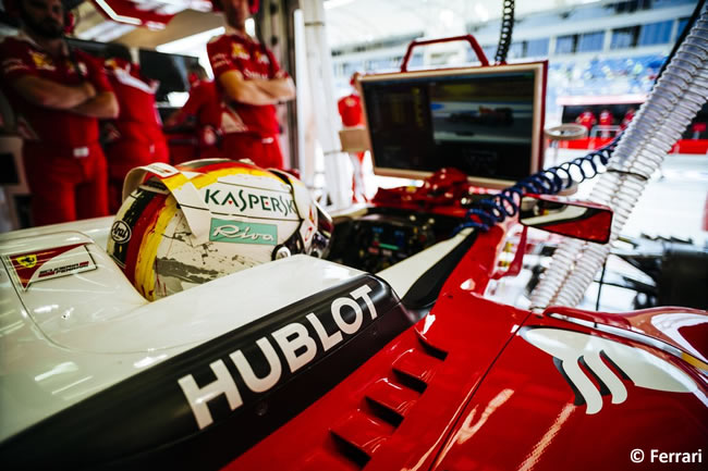 Sebastian Vettel - Scuderia Ferrari - Bahréin - Entrenamientos