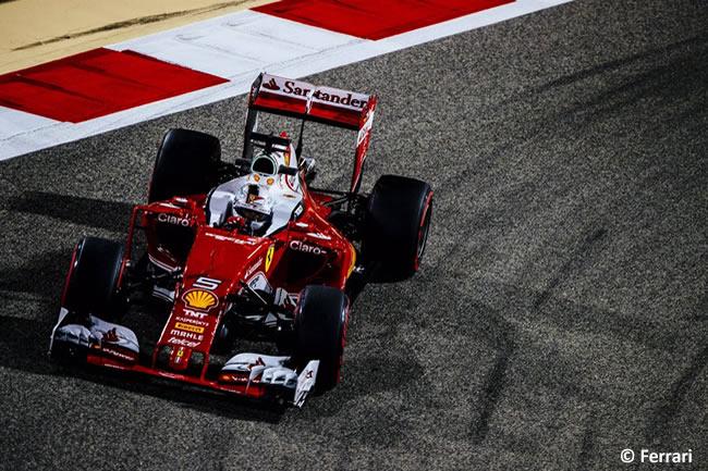 Sebastian Vettel - Scuderia Ferrari - Calificación GP Bahréin 2016