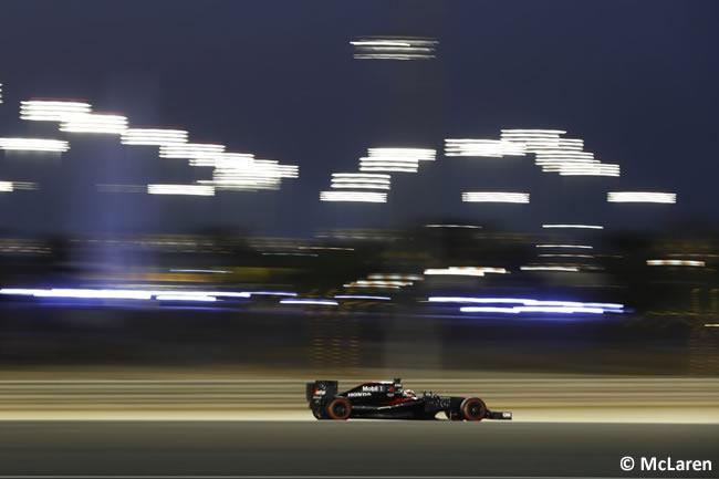 Stoffel Vandoorne - McLaren - Calificación GP Bahréin 2016