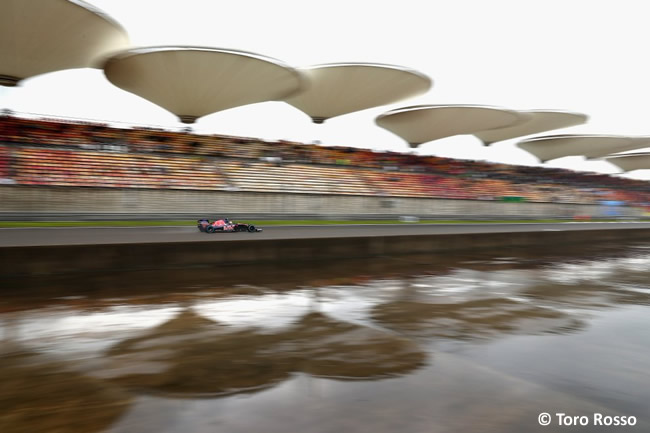 Toro Rosso - GP China - Calificación - 2016