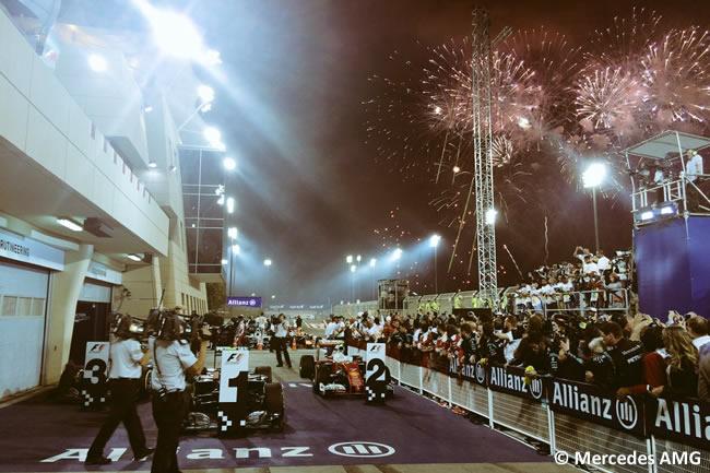 Victoria Nico Rosberg - Mercedes AMG - GP Bahréin 2016