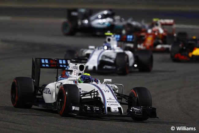 Williams - Gran Premio Bahréin 2016