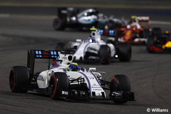 Williams - Gran Premio Bahréin 2016