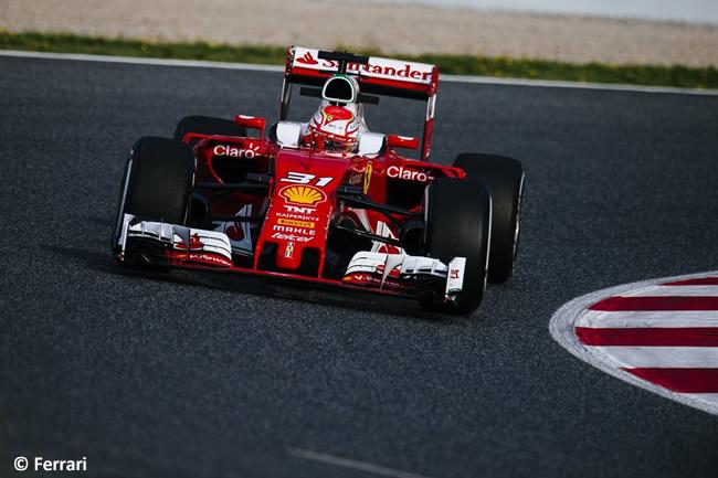 Antonio Fuoco - Scuderia Ferrari 2016