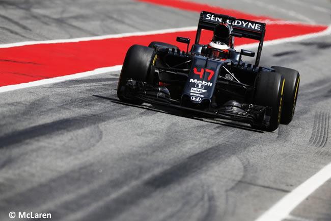 Stoffel Vandoorne - McLaren - Test Barcelona 2016