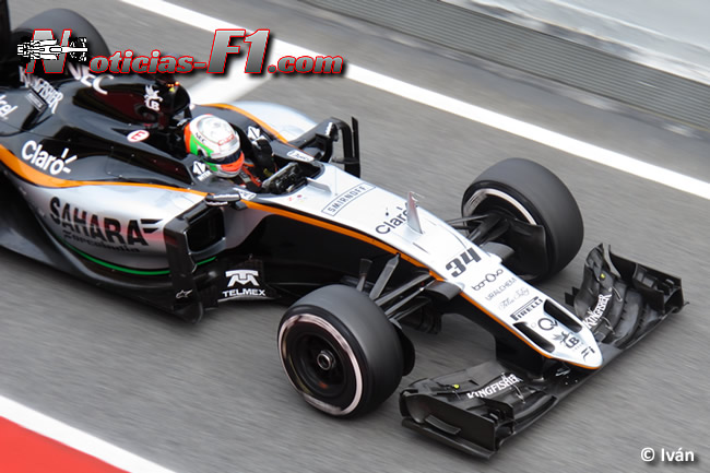 Alfonso Celis - Force India - 2016 - www.noticias-f1.com