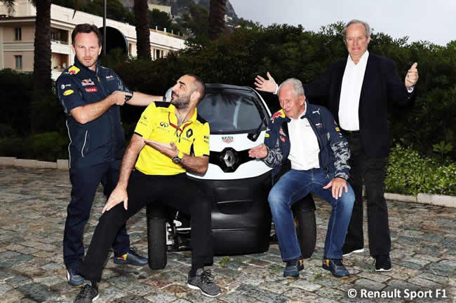 Anuncio - Asociación Renault Sport - Red Bull - 2017 - 2018
