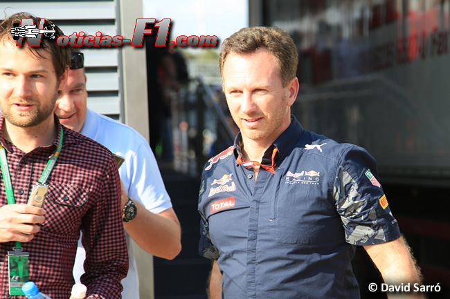 Christian Horner - Red Bull Racing - www.noticias-f1.com - David Sarró