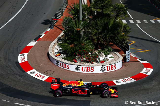 Daniel Ricciardo - Red Bull Racing - GP Mónaco - Pole 2016