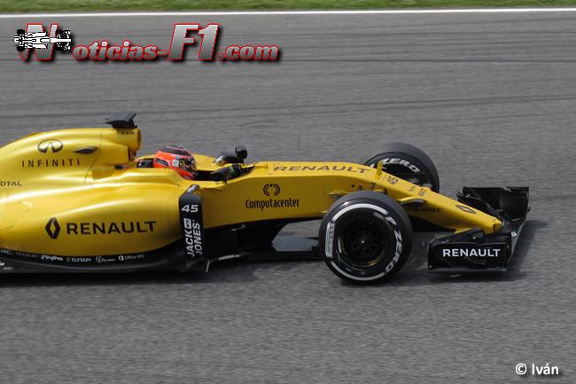 Esteban Ocono - Renault 2016 - www.noticias.f1.com