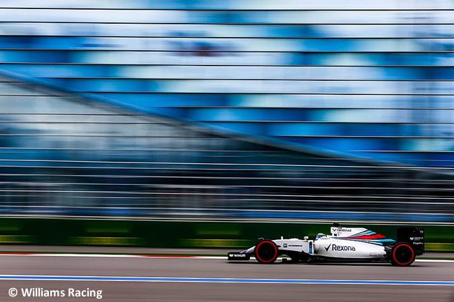 Felipe Massa - Williams - GP Rusia 2016
