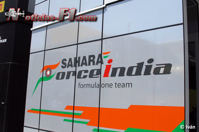 Force India - Logo Motorhome 2016 - www.noticias-f1.com