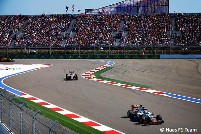 Haas - GP Rusia 2016
