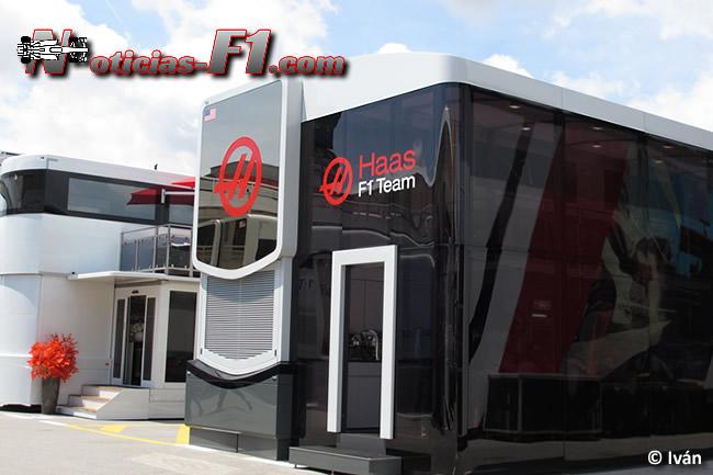 Haas F1 Team - Motorhome - www.noticias-f1.com
