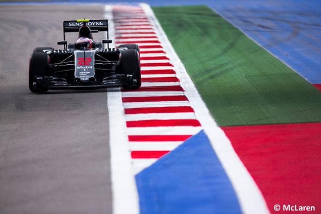 Jenson Button - McLaren - GP Rusia 2016
