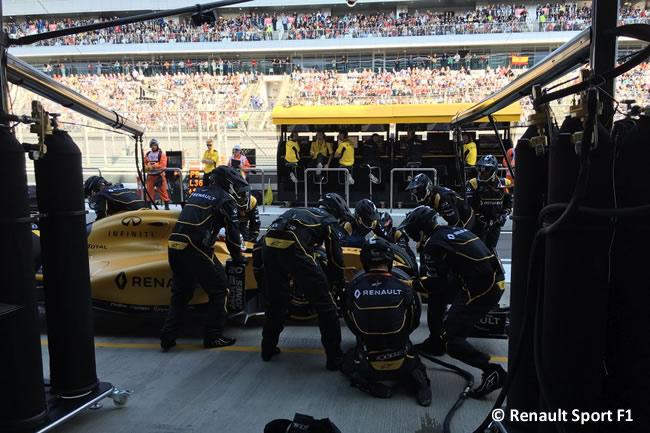 Kevin Magnussen - Renault - GP Rusia - 2016