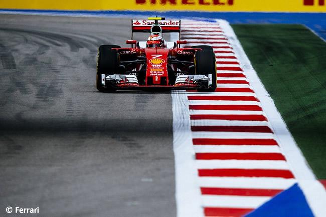 Kimi Raikkonen - Scuderia Ferrari - GP Rusia 2016